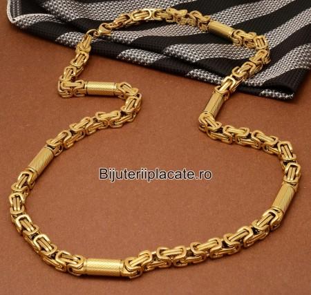 Lant Byzantine din Inox Ton Auriu LC5C