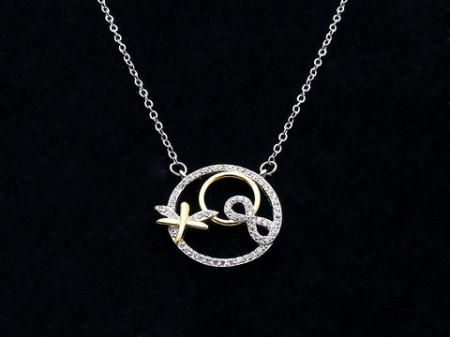 Colier cu lantisor din argint -- Infinite Love--ARG127A