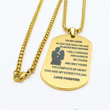 Lant Dama Inox -Love Forever-- cod LC304X