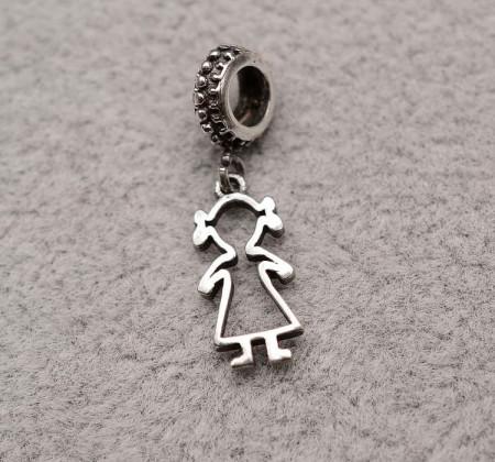 Talisman din argint -GIRL- CHA1025