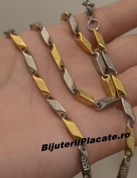 Lant Inox Argintiu Auriu L202