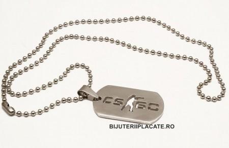 Lant inox COUNTER STRIKE cod L346