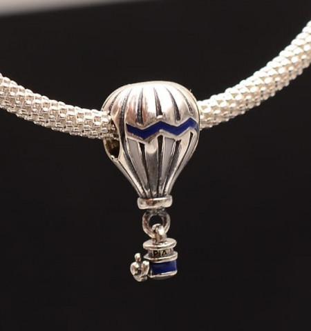 Talisman din argint Girl BALLON CHA 1008