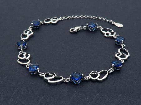 Bratara din argint Beautiful Fashion Blue Arg218