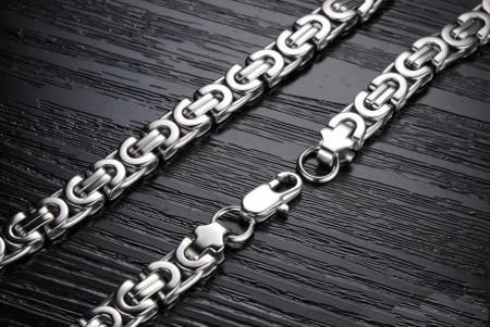 Lant inox Argintiu L77