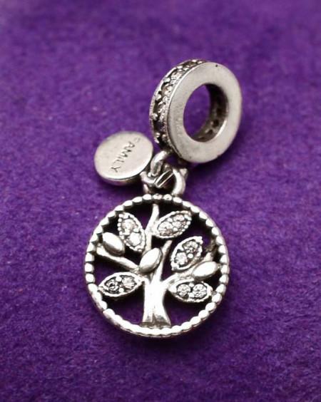 Clips Argint S925-TREE OF LIFE- Family- cod cha1019