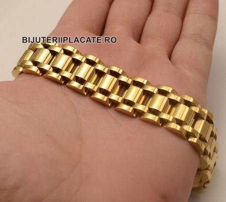 Bratara Aurie Inox - SOLIDA- cod B870