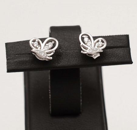 Cercei Din Argint - Elegant Butterfly - cod ARG282A