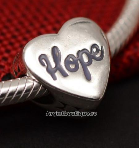 CHARM ARGINT 925 -HOPE- CHA1053