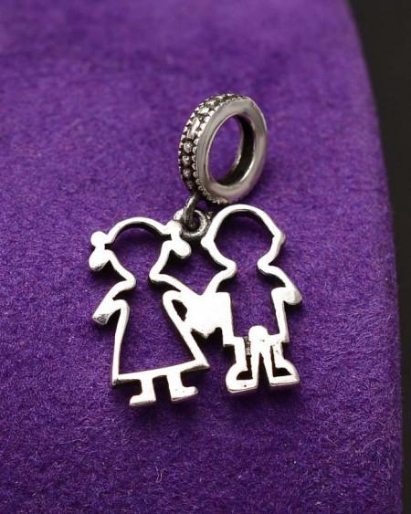 Charm Argint Boy&Girl --FAMILY---CHA1020