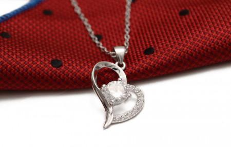 Colier cu lantisor din argint --HEART --