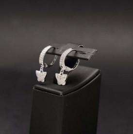 Cercei din argint 925 - contur de Flutur Special Arg336