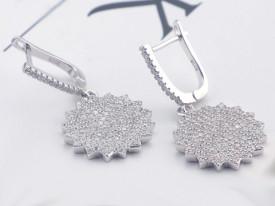 Cercei din argint Diamond Stars 6grame