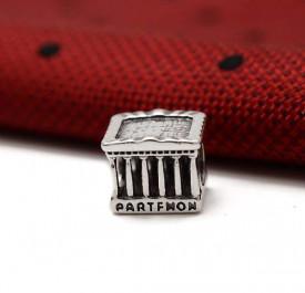 Charm argint PARTHENON templul zeitei Athena CHA1080