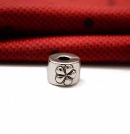Clips Argint S925 Rotund Floare CHA1084