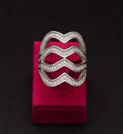 Inel Argint 925 DAMA --LUNG-- cod ARG340B
