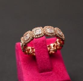 INEL ARGINT Swarovski Fashion Dama Gold Arg348