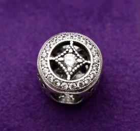 Talisman din argint cu cristale de Epoca Cha1096