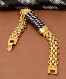 Bratara din Inox Placata Aur cod B877D