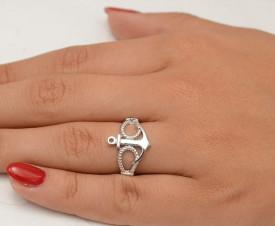 Inel Argint -- NAUTIC -- 925 CZ