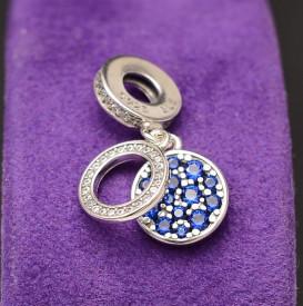 Talisman din Argint Charm ---Special Blue--- CHA1002