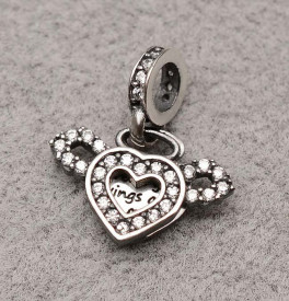 Talisman Din Argint The Love-CHA1021