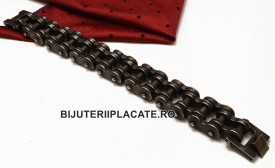 Bratara -PATINATA ARTIFICIAL- inox Cod B996