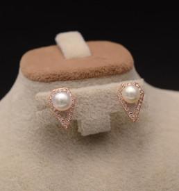Cercei argint Gold shining Pearls ARG338B