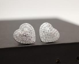 Cercei Din Argint -INIMA- cod ARG236