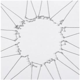 Colier din argint cu Constelatia GEMENI silver cod ARG02C