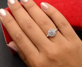 Inel argint cu SWARVSKI si cristale de zirconiu alb-ARG31A