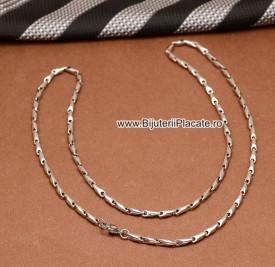 Lant Byzantine Inox Finut Ton Argintiu L148A