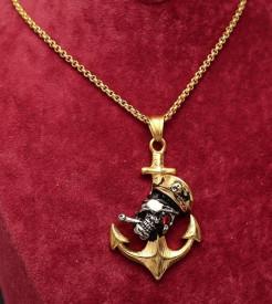 Lant Inox - Nautic Pirat- Auriu Lc55C