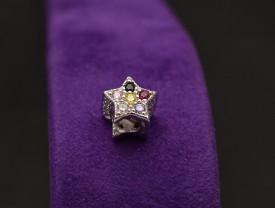 Talisman din argint -STAR FAIRY MULTICOLOR- CHA1089