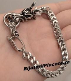 Bratara Inox Solida Dragon Cod B850
