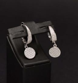 Cercei Din Argint Sapphire Whisper -cod ARG330