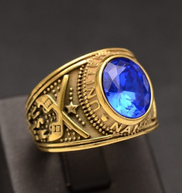 Ghiul Inox Barbati Model Albastru -- cod IM642A