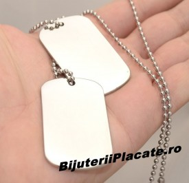 Lant inox Army(Dog Tag) cod LC51