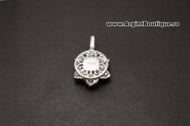 Pandantiv Din Argint Floare Masiv ARG172