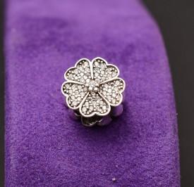 Talisman din argint -FLOWER - CHA1036