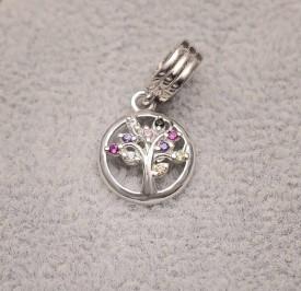 Talisman Din Argint Tree Of Life CHA1009