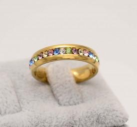 Verigheta Inox Multicolora Aurie Pentru Femei Cod IF648M