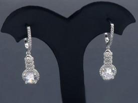 Cercei Din Argint Sapphire cod ARG114A