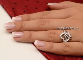 Inel Argint 925 DAMA -INIMA- cod ARG61