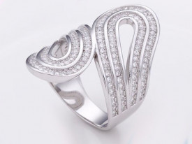 Inel Argint 925 DAMA --LUNG CHIC-- cod ARG216