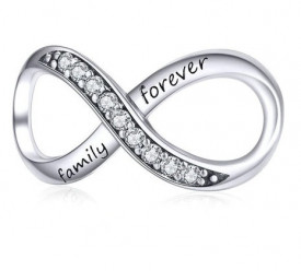 Talisman din argint -Family Forever CHA1014A