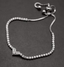Bratara Din Argint --HEART- ARG205
