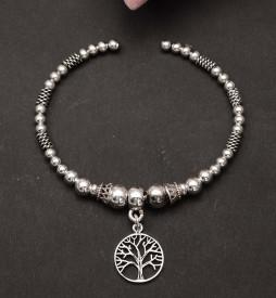 Bratara Din Argint Lucrata Manual-Copacul Vietii--- Arg318