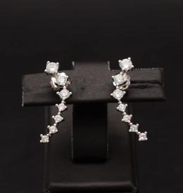 Cercei Argint Shining Star Track ARG336A