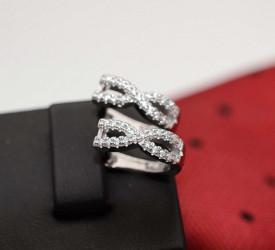 Cercei din argint INFINIT Gift ARG112A